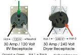 230 Volt Plug Wiring Diagram Mis Wiring A 120 Volt Rv Outlet with 240 Volts No Shock Zone