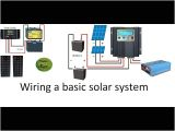 24 Volt Battery Wiring Diagram How to Wire A 12 Volt or A 24 Volt solar System with A Pwm or An