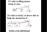 24 Volt Trolling Motor Wiring Diagram How to Connect 12v 24v Trolling Motor with 1 and 2 Batteries Youtube
