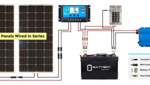 24v solar Panel Wiring Diagram Electrical Technology How to Wire Two 24v solar Panels In Parallel