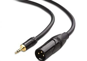 3.5 Mm Jack to Xlr Wiring Diagram Buy Cable Matters Xlr to Trs 3 5mm 1 8 Inch Cable 6 Feet 6 Online at