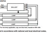 3 Bulb Ballast Wiring Diagram 3 Bulb Ballast Wiring Diagram Wiring Diagram Centre