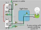 3 In 1 Bathroom Heater Wiring Diagram How to Wire A 3 Way Switch Wiring Diagram Dengarden