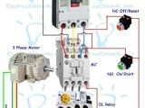3 Phase 4 Wire Diagram Contactor Wiring Guide for 3 Phase Motor with Circuit Breaker