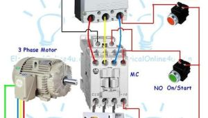 3 Phase Electric Motor Wiring Diagram Pdf Contactor Wiring Guide for 3 Phase Motor with Circuit Breaker