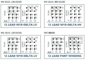 3 Phase Motor Wiring Diagram 9 Wire L18 480 Volt Wiring Diagram Wiring Diagrams Bib