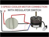 3 Phase Two Speed Motor Wiring Diagram Multi Speed Cooler Motor Connection Youtube