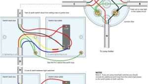3 Way Junction Box Wiring Diagram Wiring Diagrams for Lighting Circuits E2 80 93 Junction Box Method