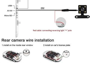 3 Wire Brake Light Diagram Think sogood4 3 Zoll Auto Dual Dash Cam Car Video Recorder Dvr Dual Lens Front Reversing Kamera Video Aufnahme Mit Lcd Hd Blau Bildschirm Vehicle