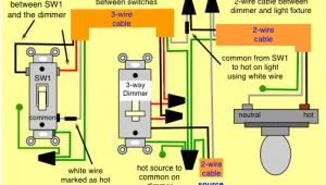 3 Wire Dimmer Switch Diagram 3 Wire Cord Diagram Wiring Diagram Technic