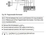 3 Wire Room thermostat Wiring Diagram Honeywell Cmt927 Installation Manual
