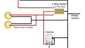 3 Wire Single Coil Pickup Wiring Diagram Ted Crocker Wiring Diagram 1 Single Coil 2 Piezo 1 Vol