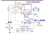 3 Wire Voltage Regulator Wiring Diagram 4 Wire Gm Alternator Wiring Wiring Diagram Rules