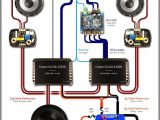 4 Channel Amp Wiring Diagram 4 Speakers 1290 Best System S Images In 2020 Car Audio Custom Car