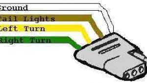 4 Flat Wiring Diagram for Trailer Wiring Diagram for Trailer Light 4 Way Trailer Wiring