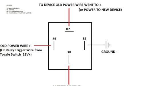 4 Pin Relay Wiring Diagram Basic Diagram Of Relay Wiring Diagram Description