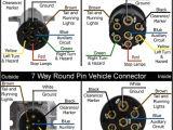 4 Pole Round Trailer Wiring Diagram 50 Best Trailer Wiring Images Trailer Trailer Wiring