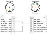 4 Way Flat Trailer Connector Wiring Diagram 7 Pin Semi Wiring Diagram Wiring Diagram Inside
