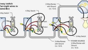 4-way Switch Wiring Diagram Cooper 4 Way Switch Wiring Diagram for Switches In 2019