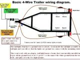 4 Way Wiring Diagram for Trailer Lights 4 Wire Wiring Diagram Light Wiring Diagram Article Review