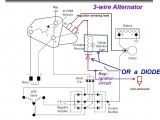 4 Wire Alternator Wiring Diagram 5 Wire Gm Alternator Wiring Wiring Diagram