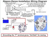 4 Wire Alternator Wiring Diagram Denso Alternator Wiring Diagram 2006 Schematic Diagram Database