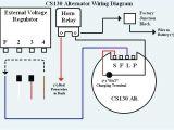 4 Wire Alternator Wiring Diagram Gm Cs130 Alternator Wiring Diagram Wiring Diagrams Konsult