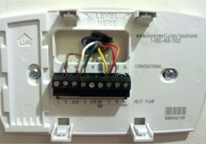 4 Wire Honeywell thermostat Rth111b Wiring Diagram Hv 2262 Heat Pump thermostat Wiring Diagrams Rthl3550