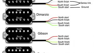 4 Wire Humbucker Wiring Diagram Guitar Wiring 101 Diy Fever
