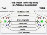 4 Wire Trailer Connector Diagram Trailer Wiring Diagram Gm Blog Wiring Diagram