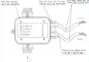 4 Wire Well Pump Wiring Diagram How to Wire A Well Pump Pressure Switch Wiring Diagram Beautiful