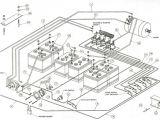 48 Volt Club Car Wiring Diagram Club Car Ds Schematic Wiring Diagram Mega