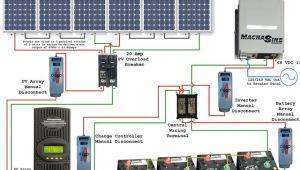 48v solar Panel Wiring Diagram solar Power System Wiring Diagram Electrical Engineering