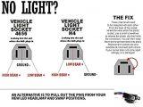 4×6 Led Headlight Wiring Diagram 4×6 Rectangular Sealed Beam Led Headlights for Chevrolet Chevy Kodiak C4500 and C5500 H4651 H4642 H4652 H4656 H4666 H4668 H6545 Conversion Kit Bulb