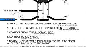 5 Pin Illuminated Rocker Switch Wiring Diagram Stedi Blog Push button Carling Type Rocker Switch
