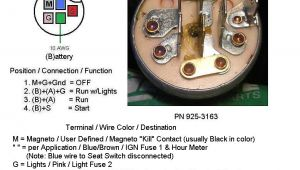 5 Pin Lawn Mower Ignition Switch Wiring Diagram Lawn Mower 5 Prong Ignition Switch Wiring Diagram