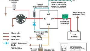 5 Pin Relay Wiring Diagram Fan 5 Pin 30 Amp Relay Wiring Diagram Best Of 12v