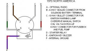 5 Pin Starter Switch Wiring Diagram Ignition Switch Connections