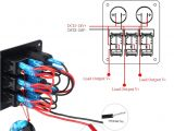 5 Terminal Rocker Switch Wiring Diagram Gl 9089 Wiring Diagram for Switch with Led On Marine Led