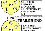 5 Way Trailer Connector Wiring Diagram Trailer Light Wiring Typical Trailer Light Wiring Diagram