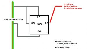 5 Wire Door Lock Relay Diagram 14b192 Aa Relay Wiring Diagram Wiring Diagram Show