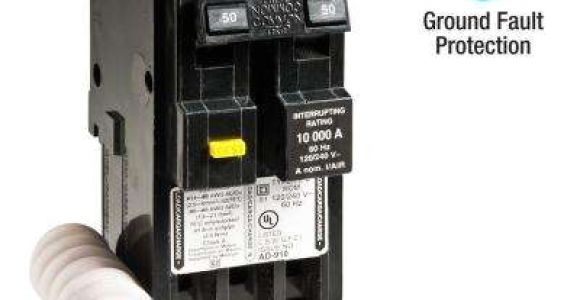 50 Amp Gfci Breaker Wiring Diagram Free Shipping 2 Pole Breakers Circuit Breakers the Home Depot