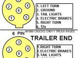 6 Pin Round Trailer Plug Wiring Diagram Trailer Light Wiring Typical Trailer Light Wiring Diagram