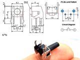 6 Pin Slide Switch Wiring Diagram 20pc 2 Pin 2 Feet 6x6x4 3 5 6 7 9 10 11 12mm Horizontal