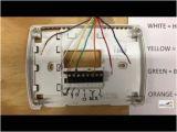 6 Wire Honeywell thermostat Wiring Diagram thermostat Wiring