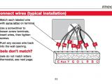 6 Wire Honeywell thermostat Wiring Diagram Wire thermostat Diagram Images Of 5 Wire thermostat Diagram