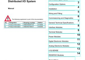 6es7138 4ca01 0aa0 Wiring Diagram Simatic Et 200s Distributed I O System Manualzz Com