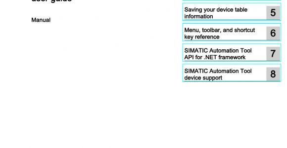 6es7231 4hd32 0xb0 Wiring Diagram Simatic Automation tool V3 0 User Guide Manualzz Com