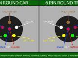 7 Flat Trailer Wiring Diagram 6 Round Wiring Diagram Wiring Diagrams Show