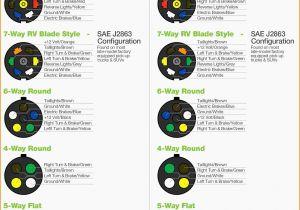 7 Pin Round Trailer Plug Wiring Diagram 6 Pin ford Trailer Wiring Diagram Wiring Diagram Show